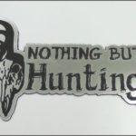 Наклейка шильда на авто hunting