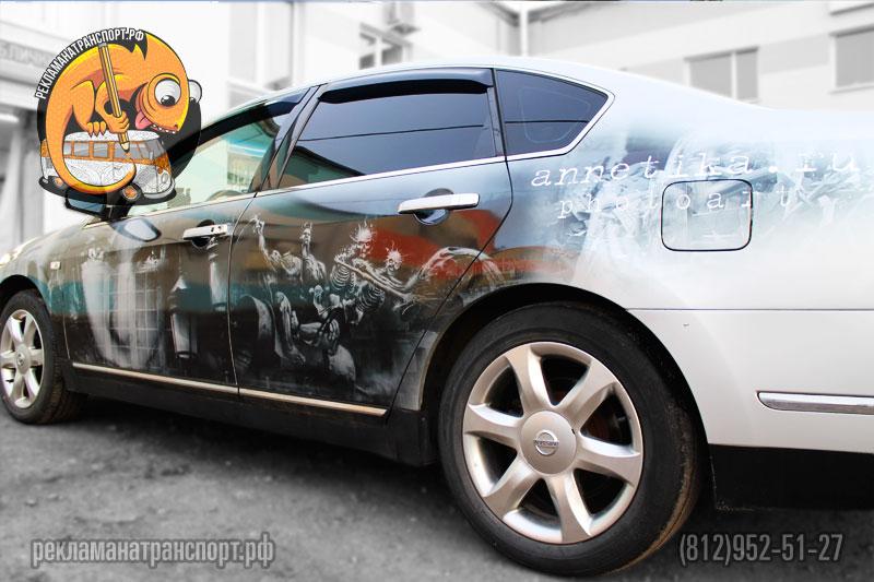 Реклама на авто, наклейки на авто